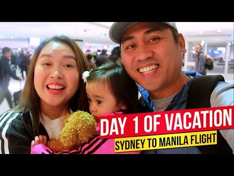 SYDNEY - MANILA FLIGHT | Australian Travel Insurance By Insure And Go | Best Australian Travel Cover