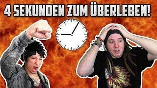 NUR 4 SEKUNDEN zum ÜBERLEBEN! - 4 Second Frenzy | ungespielt