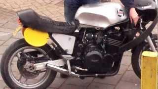 Triumph Trident 750 caferacer (better sound)