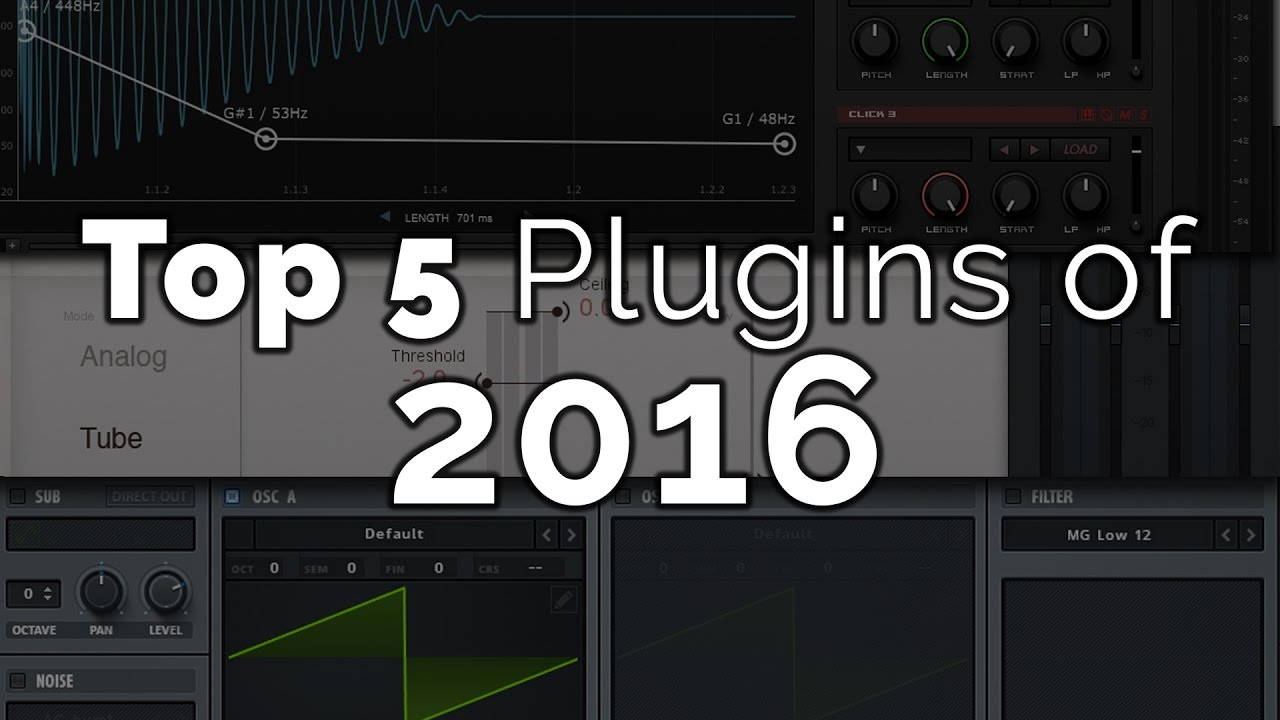 my top 5 vst plugins of 2016 happy new year youtube