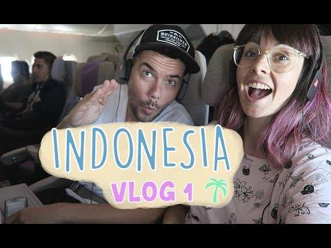 VOLANDO CON EMIRATES. LA MEJOR AEROLINEA DEL MUNDO | INDONESIA VLOG1