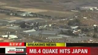Earth Quake in Japan - Tsunami LIVE News 11.03.2011