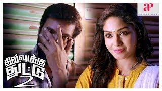 Santhanam Dhilluku Dhuddu 2 Movie | Santhanam proposes to Shritha | Rajendran | Latest Tamil Movie