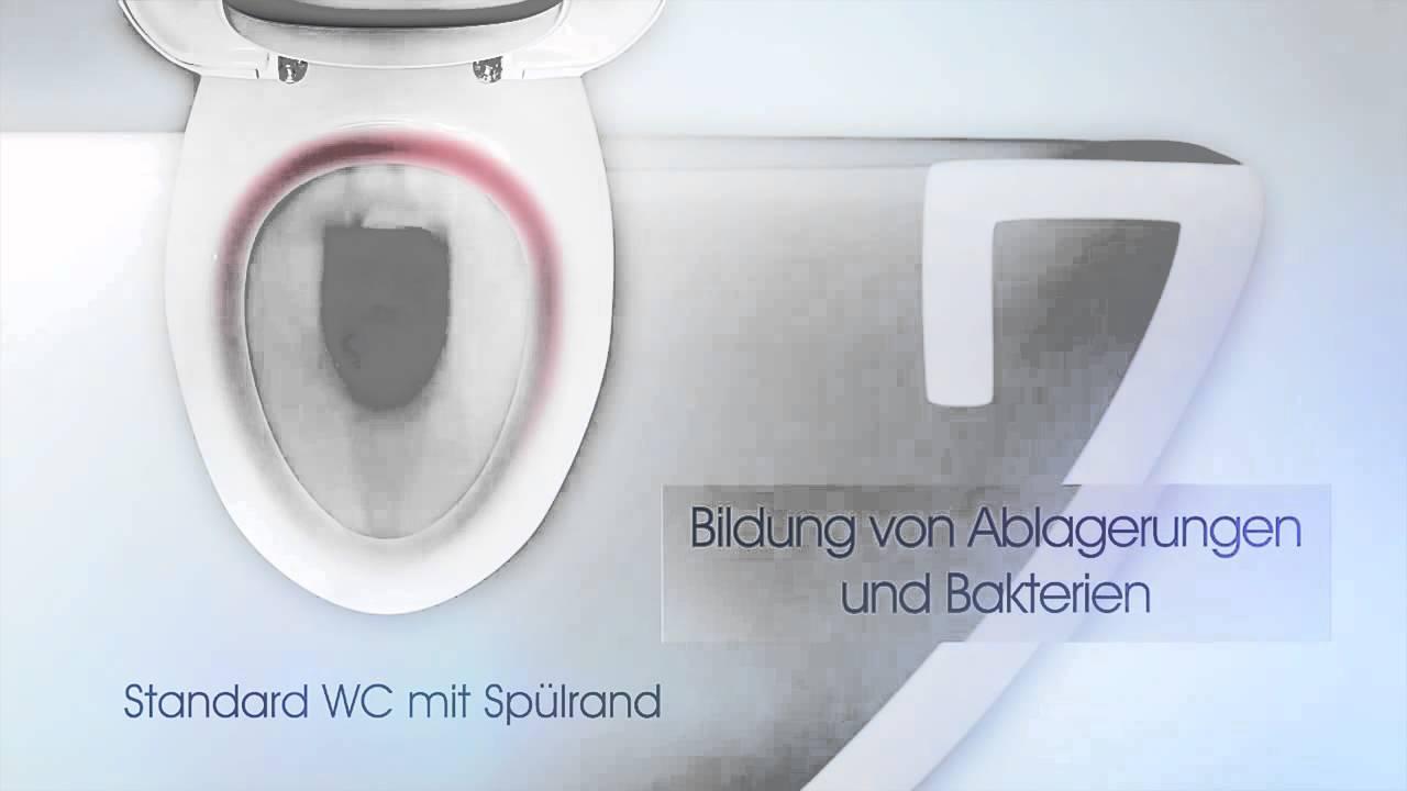 bauhaus tv produktvideo icon rimfree sp lrandloses wand wc set youtube. Black Bedroom Furniture Sets. Home Design Ideas