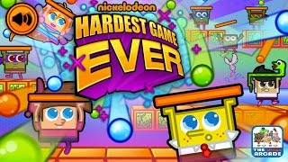 Nickelodeon Hardest Game Ever - Frustrating SpongeBob and Timmy (Nickelodeon Games)