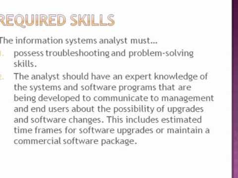 Information System Analyst