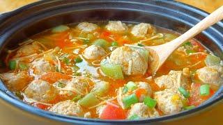 【小穎美食】夏天不愛吃飯,試試做這鍋湯,肉嫩湯鮮,連挑食的孩子也愛吃!