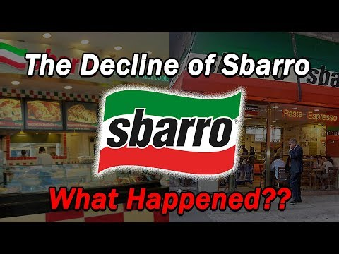 The Decline Of Sbarro...What Happened?