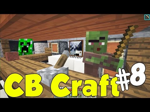 CBcraft #8 - Zombie Bartender & Record Store