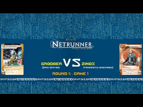 Netrunner Greek Nationals 2015 - Round 5 / Game 1 (natural audio)