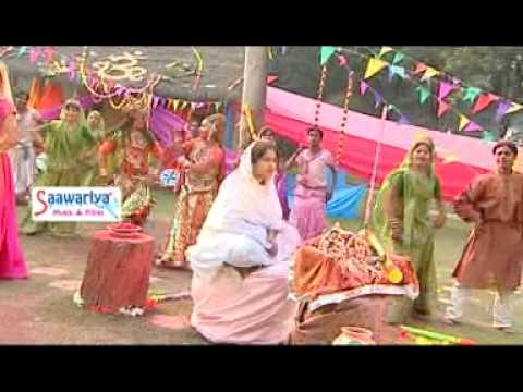 Hori Me Lag Na Kar Gori....r Krishan Bhajan By Sadhvi Purnima Ji ' Poonam Didi'