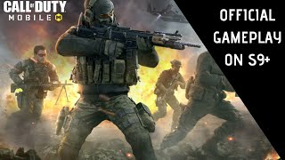 Call Of Duty Mobile Official Gameplay On Samsung Galaxy S9+ Full HD