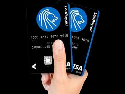Leupay Card Review Free Visa Card 2018 Youtube