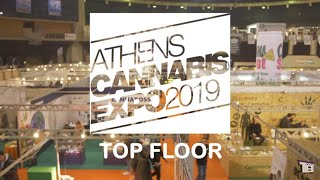 Bafman goes Expo by Cannabis inc - Athens Cannabis Expo 2019 Top Floor