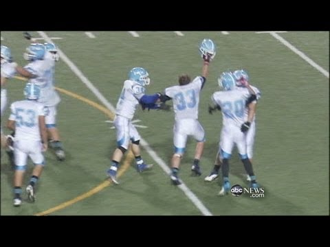 Player Kicks 67-Yard Field Goal