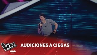 "Juan Pablo Nieves - ""I feel good"" - James Brown - Audiciones a ciegas - La Voz Argentina 2018"