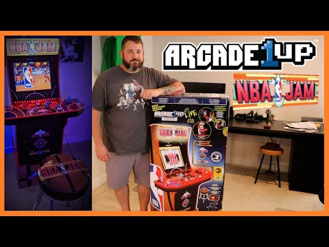 Arcade1Up NBA Jam Special Edition Assembly, Menus, and Online Options from Rekcinol