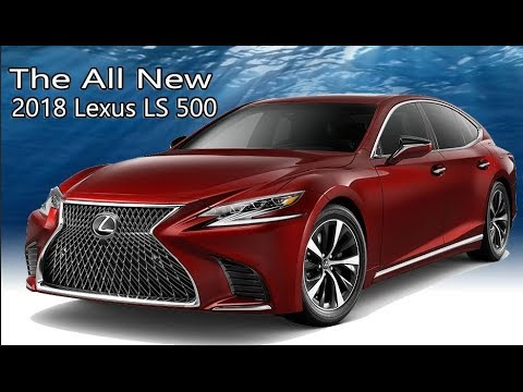 2018 Lexus Ls 500 Interior And Exterior Colors Youtube