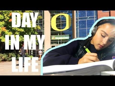 Day In the Life @ University of Oregon | School Day | Emma Pardy
