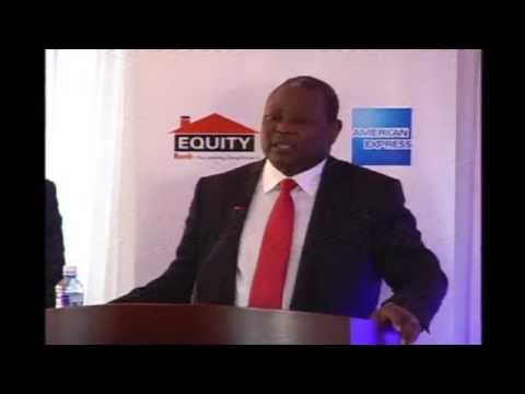 Launch of the Equity Bank American Express Cards in Kenya