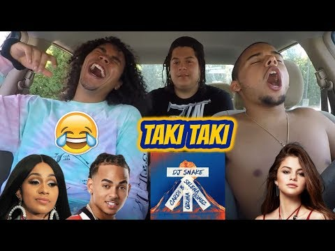 DJ Snake feat Selena Gomez Ozuna & Cardi B - Taki Taki  REACTION REVIEW