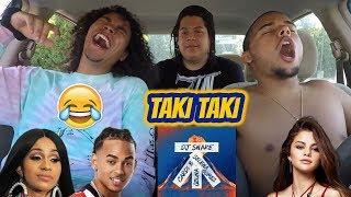 Dj Snake Feat Selena Gomez, Ozuna & Cardi B - Taki Taki   Reaction Review