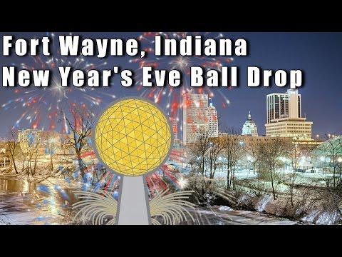 Fort Wayne Indiana New Years Eve Ball Drop
