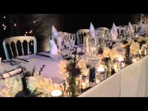 Winter wedding Amberley Castle Hotel