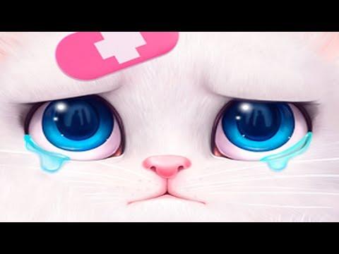 Кошка Анжела ЗАБОЛЕЛА Малыш Панда у ДОКТОРА Ставит УКОЛ БОЛЬНИЦА для ЖИВОТНЫХ Мультик игра для детей
