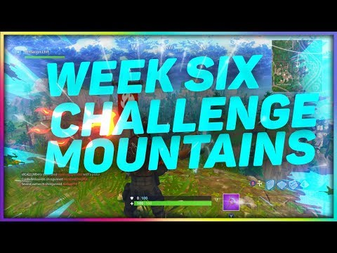 Fortnite Summit Different Mountains Peaks Week 6 Challenge
