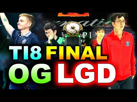 OG vs PSG.LGD - TI8 GRAND FINAL - BEST LEGENDARY!!!! - THE INTERNATIONAL 2018 DOTA 2