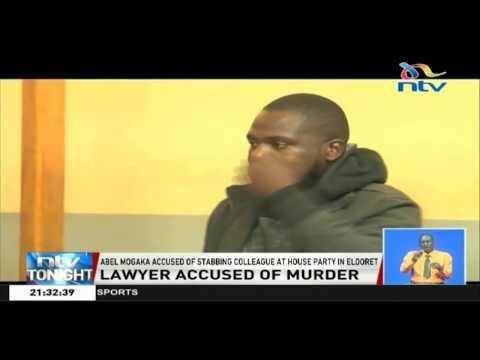 Lawyer accused of stabbing colleague at house party in Eldoret, detained