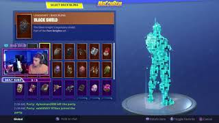 WIE EIN KEIN SKIN IN FORTNITE AGAIN GLITCH! KEIN BACKBLING!
