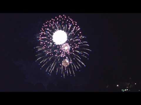 Freedom Fest 2017 Fireworks in Tulsa.