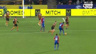 Hull CIty, Crystal Palace play to 3-3 draw