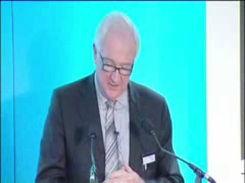 Eddie O'Connor speaking at The Crown Estate Offshore Wind Event on 26th February 2010