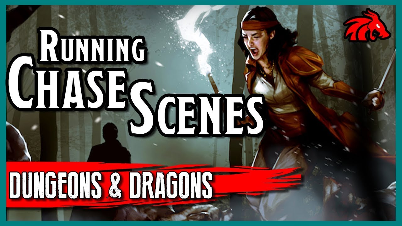 Running a Chase Scene in D&D - Simple, Easy-to-Use Rules