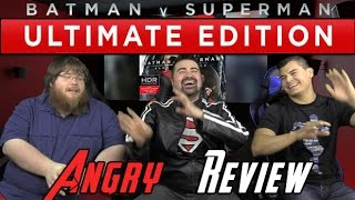 BvS: Extended Cut Angry Movie Review
