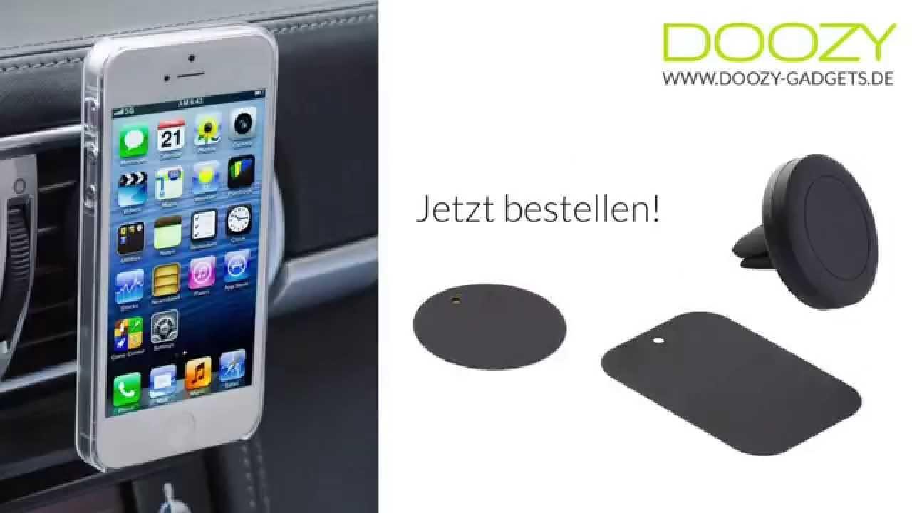 mini smartphone halterung f r l ftung magnetisch auto. Black Bedroom Furniture Sets. Home Design Ideas