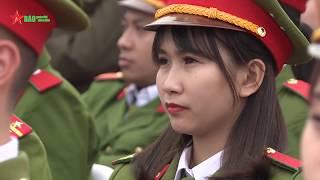 Lễ kỷ niệm 70 năm ngày Bác Hồ có Sáu điều dạy Công an nhân dân tại Bắc Giang - Báo QDND