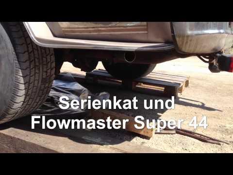 Soundcheck Auspuff / Exhaust Flowmaster Super 44, GMC Vandura