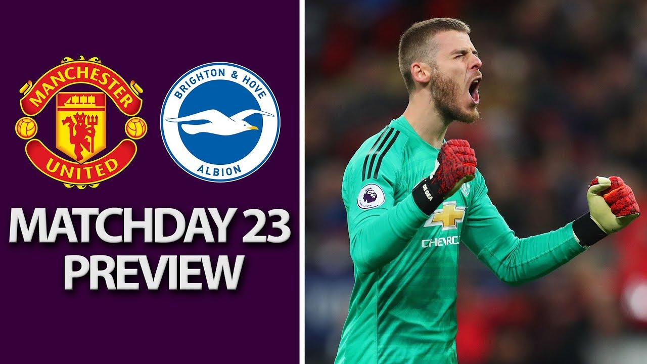 Man United v. Brighton | PREMIER LEAGUE MATCH PREVIEW | 1/19/19 | NBC Sports
