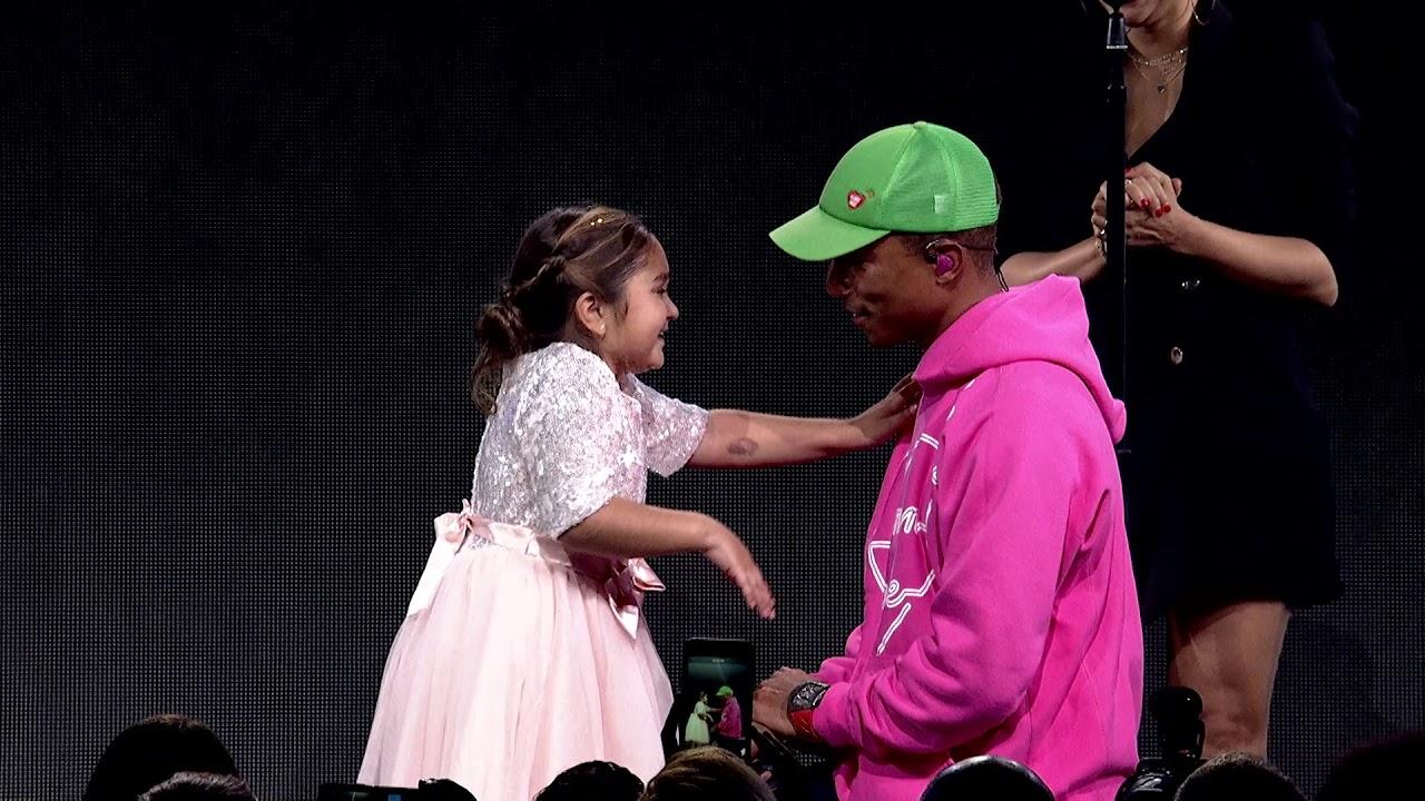 Children's Hospital Patient Ellie Bring Pharrell to Tears