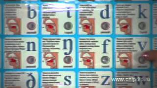 Электронный звуковой плакат - Английский язык
