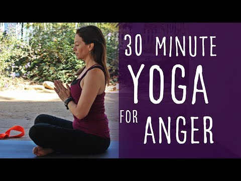 Minute Vinyasa Flow For Anger Yoga With Fightmaster Yoga
