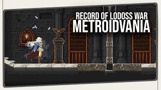 Record of Lodoss War - Deedlit in Wonder Labyrinth - O Início de Gameplay! | Metroidvania