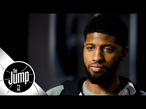 Paul George sits down for exclusive interview with Rachel Nichols   The Jump   ESPN