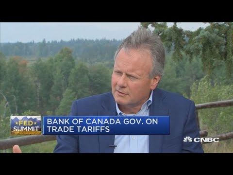 Bank of Canada governor on rate hikes and trade tariffs