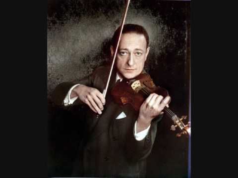 Jascha Heifetz, Beethoven Violin Concerto In D, Op 61, 2nd mtv