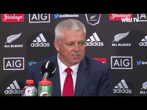 Post match press conference in Wellington